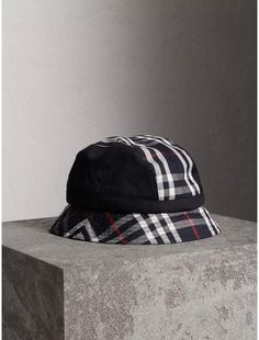 9be64e99699 Gosha x Burberry Bucket Hat  tartan  plaid  sponsored Burberry Men