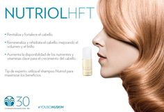 Revitaliza y fortalece tu cabello con el Tratamiento Nutriol #YoUsoNuSkin