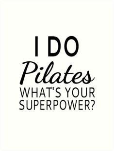 I do Pilates, what's your superpower? #pilates #workout #workoutwear