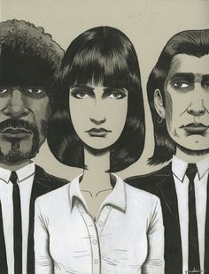 Ken Garduno-Pulp Fiction