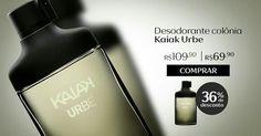Compre na Loja Online Natura o desodorante colônia Kaiak Urbe masculino com 36% OFF e economize R$ 40. Promoção válida de 26/set a 02/out ou enquanto durarem os estoques.  Natura Kaiak Por tempo limitado. Aproveite!