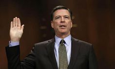 At least three of the big four TV networks will carry former FBI James Comey's scheduled testimony in front of Congress live on Thursday. Clinton Foundation, Fbi Director, James Comey, National Security Advisor, Us Politics, The Big Four, Friends Show, Current Events