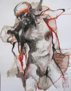 Aurore Lephilipponnat  série Butoh