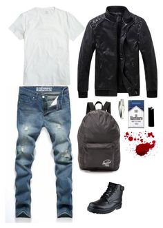 """Jason hs au"" by mettathegreat on Polyvore featuring J.Crew, Herschel Supply Co., women's clothing, women, female, woman, misses and juniors"