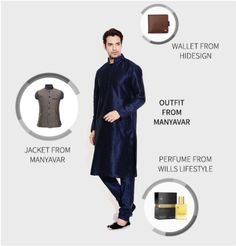 Here's our Fashion LookBook for this week from various brand outlets available at The Forum Fiza Mall. Outfit fromManyavar Jacket from Manyavar Perfume fromWills Lifestyle Wallet fromHides…