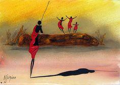 Bernard Ndichu Njuguna | Kenyan painter