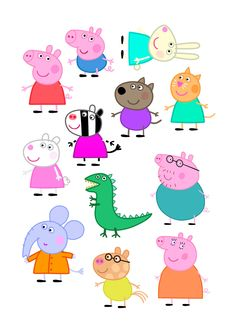 Satisfactory image for peppa pig character free printable images