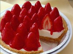 Get Strawberry Cheese Pie Recipe from Food Network