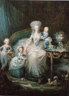 Portraits of the Royal Family of France by Charles...