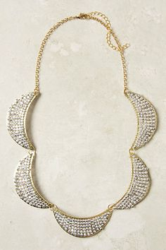 Waxing Flicker Necklace #anthropologie