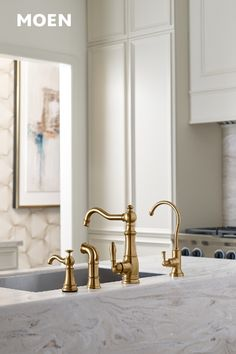 8 Best Weymouth Brushed Gold Kitchen images in 2019 | Gold ...