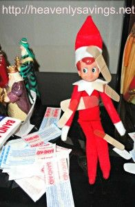 Elf on the Shelf Ideas Day #17