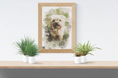 Items similar to Cute puppy. Author's watercolor painting of the Afghan hound. Suitable as a gift for lovers of the breed. The print is decorated in a mat. on Etsy Hand Embroidery Patterns, Embroidery Art, Cross Stitch Fabric, Cross Stitch Patterns, Cute Puppies, Dogs And Puppies, Afghan Hound Puppy, Yorkshire Dog, Watercolor Paintings