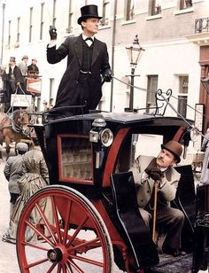 This isn't really what I meant by hiring a cab, Holmes.