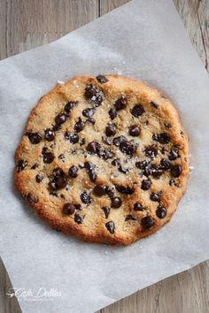 Single Serve Jumbo Chocolate Chip Cookie (Low Carb)