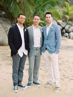 Classic Casual Groomsmen Attire #rebeccaingramcontest #fijiairways and #yasawaislandresort