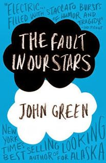 THE FAULT IN OUR STARS by John Green the very first book I read by the said author and I loved this one. Can't wait for the movie version.