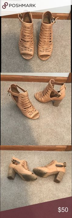Only worn a couple of times. A few visible water-marks (as seen in  photos)!! Very cute with jeans or casual dresses! Chinese Laundry Shoes  Ankle ...