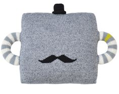 Mustache travel pillow for kids | Bla Bla -- so great for car, plane, or grandma's house!
