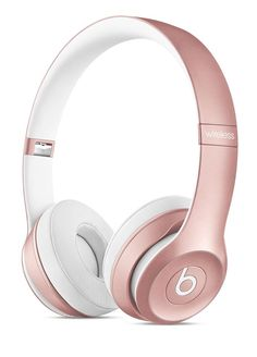 Rose Gold Beats Solo 2 Wireless Headphones