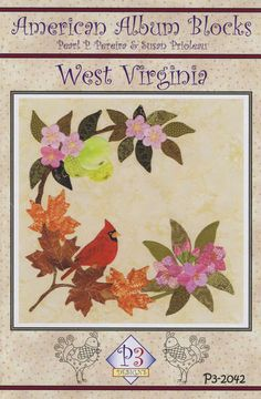 click here to view larger image of American Album - West Virginia Mountain State (PATTERNS)