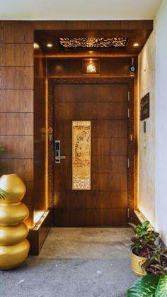 Modern Entrance Door, Main Entrance Door Design, Wooden Front Door Design, Home Entrance Decor, Wooden Ceiling Design, Modern Front Door, Home Front Door, New Ceiling Design, Modern Wooden Doors