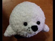 Tutorial Uncinetto - la foca amigurumi - sello crochet - crochet seal -, My Crafts and DIY Projects Crochet Animals, Quilling, Knit Crochet, Bunny, Snoopy, Diy Projects, Teddy Bear, Knitting, Hobby