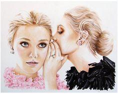 "Saatchi Art Artist: anna hammer; Marker 2012 Drawing """"Secret"""""