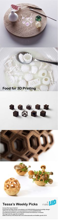 """I love the project at the bottom """"Edible Growth"""" - at http://www.chloerutzerveld.com/edible-growth-2014 - Tessa's Weekly Picks 