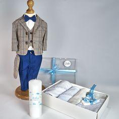 Trusou Botez Complet Casual Luca - Costum cu Trusou si Lumanare - 15%OFF Transport, Costume, Blazer, Coat, Casual, Polyvore, Jackets, Men, Fashion