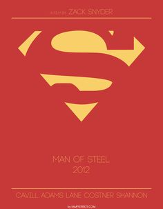 Superman 2013 (I can't remember if I pinned this already but it's awesome. Only one more year!)