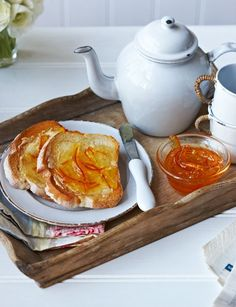 Genuine Seville orange marmalade to infuse your tea  #teaparty #teafood
