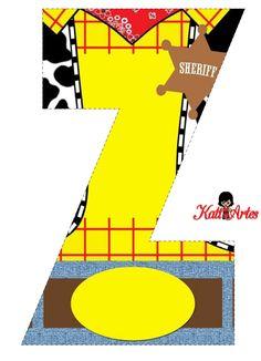 EUGENIA - KATIA ARTES - BLOG DE LETRAS PERSONALIZADAS E ALGUMAS COISINHAS: Alfabeto TOY STORY 1
