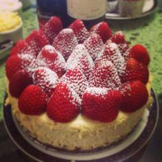 Chesse cake crema de la crema❤️