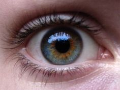 This is closer to Rin's eye color but flipped. The blue looks like it's creeping out of the pupil. @Nikky Keane