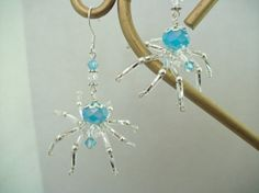 Spider Earrings by Thespiderlady on Etsy, $15.00