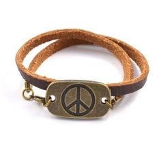 Peace Layered Arm Party Bracelet