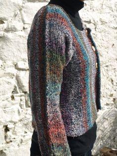 Beautiful NORO Silk and Wool Cardigan Sweater - Folksy