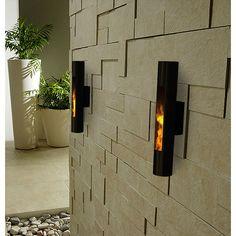 Decorpro Lumin Sconce Bio Ethanol Wall Mounted Fireburner | AllModern