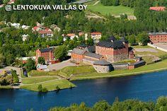 Hämeenlinna, Hämeen linna Ilmakuva: Lentokuva Vallas Oy