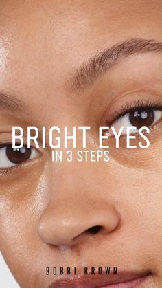 Eye Makeup Steps, Simple Eye Makeup, Eyebrow Makeup, Skin Makeup, Bridal Eye Makeup, Eye Base, Hooded Eye Makeup, Tips Belleza, Makeup For Brown Eyes