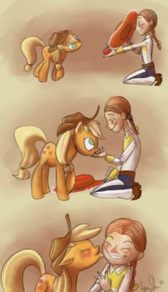 OMG this is so adorable!-Apple Jack and Jessie