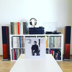 Vinyl Music, Vinyl Records, Audiophile Turntable, Vinyl Junkies, Record Collection, Bob Dylan, Bookcase, Desk, Lp