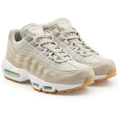 innovative design ceeb0 26d31 Nike Air Max 95 Sneakers (5 375 UAH) ❤ liked on Polyvore featuring men s  fashion, men s shoes, men s sneakers, beige, beige mens dress shoes, nike  mens ...
