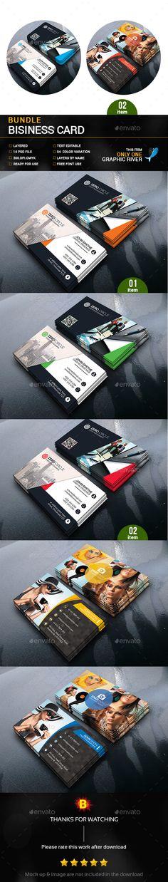 Business Card Bundle - Business Cards Print Templates Download here : http://graphicriver.net/item/business-card-bundle/16824413?s_rank=31&ref=Al-fatih