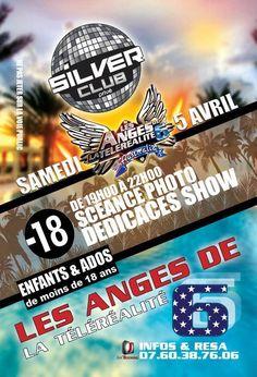 Dédicace show Les anges de la téléréalité. Le samedi 5 avril 2014 à compiegne.  19H00
