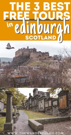 3 Crazy Good Free Tours in Edinburgh, Scotland - Want to visit Edinburgh on a budget but aren't sure what you can do there on the cheap? Edinburgh Tours, Visit Edinburgh, Edinburgh Scotland, Scotland Travel, Scotland Tours, Scotland Culture, Scotland History, Hawaii Travel, Thailand Travel