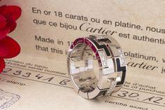 Cartier Ring Kiss of the dragon Le baiser du Dragon Brillanten Weißgold 56
