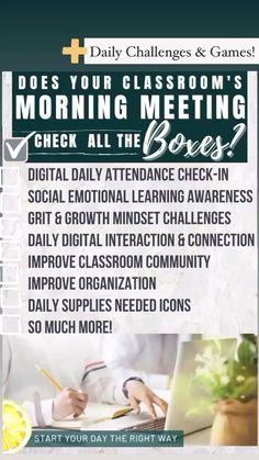 Flipped Classroom, Math Classroom, Classroom Organisation, Classroom Management, Middle School, High School, Classroom Community, Social Emotional Learning, School Counselor
