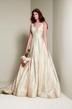 Vera Wang for David's Bridal wedding dress
